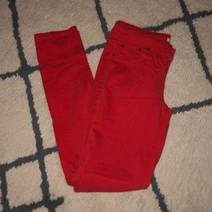 Bongo Red jeans size 7